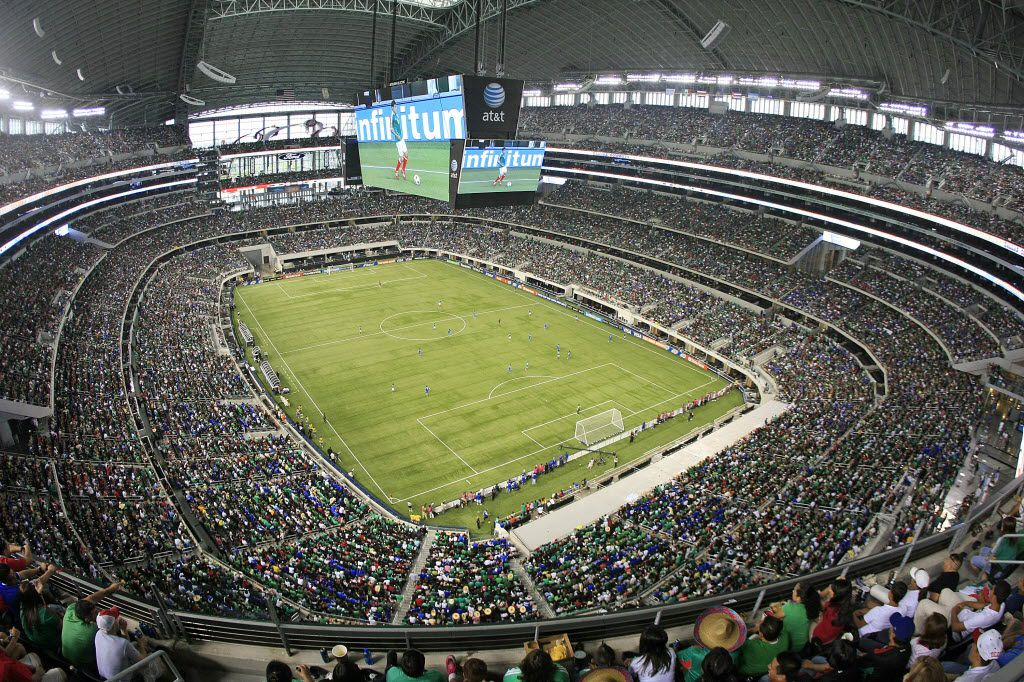 As 2026 World Cup bid takes next step, Dallas pitches AT&T Stadium to FIFA