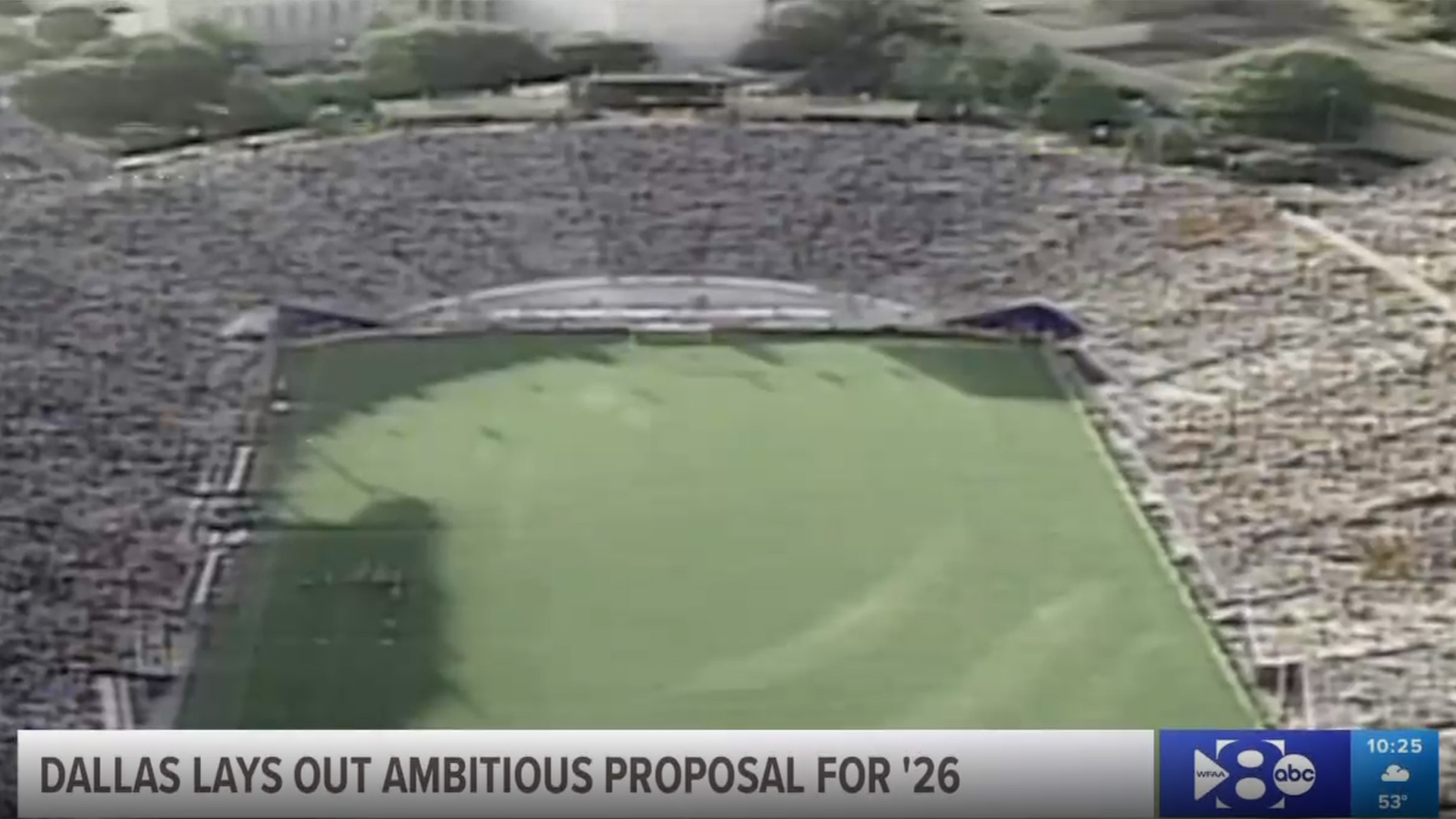 Dallas Lays Out Ambitious Proposal For '26